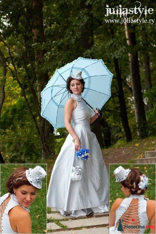 Фото 131856 в коллекции Фотографии свадебных причесок - Свадебный стилист Юлия Зайченко