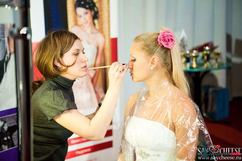 Фото 131861 в коллекции Чемпионат свадебных стилистов Wedding Style 2010 - Свадебный стилист Юлия Зайченко
