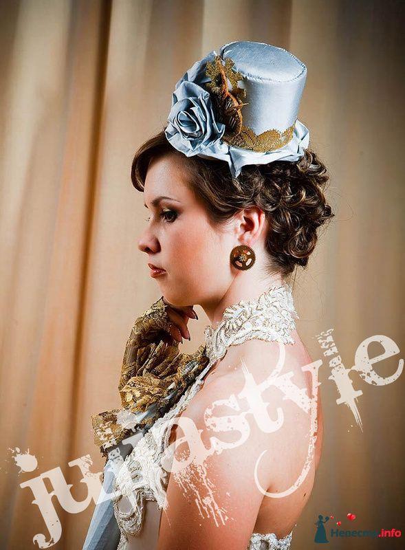 Парад невест-6 28 мая 2009 года в Москве. Образ стим-панк невесты. - фото 131867 Свадебный стилист Юлия Зайченко