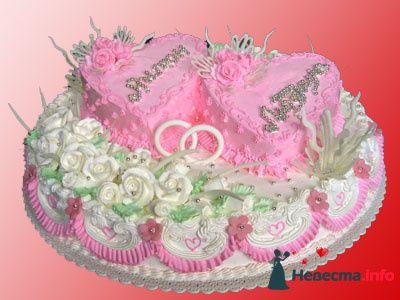 Фото 128178 в коллекции Свадебные торты