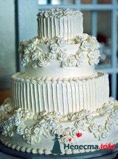 """Фото 128186 в коллекции Свадебные торты - """"Мир Любви"""" - студия свадебных услуг"""