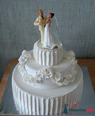 """Фото 128198 в коллекции Свадебные торты - """"Мир Любви"""" - студия свадебных услуг"""