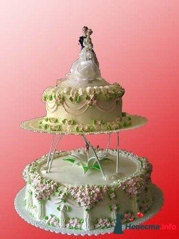 Фото 128200 в коллекции Свадебные торты