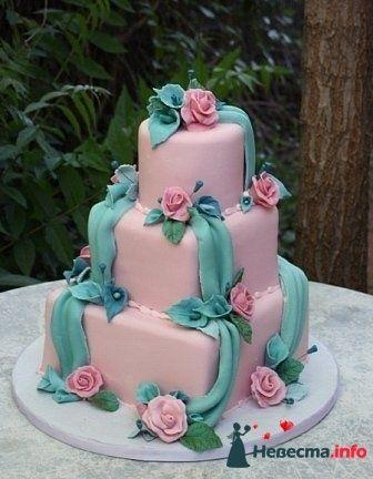 """Фото 128204 в коллекции Свадебные торты - """"Мир Любви"""" - студия свадебных услуг"""