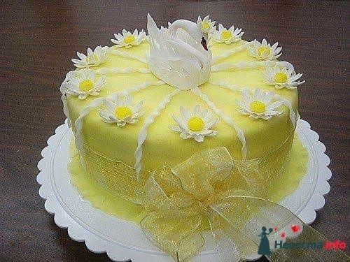 """Фото 128207 в коллекции Свадебные торты - """"Мир Любви"""" - студия свадебных услуг"""