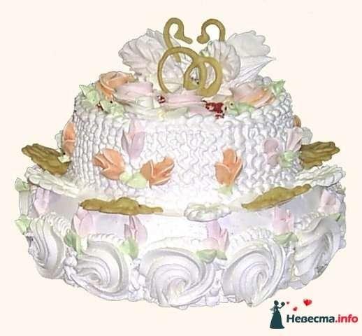 """Фото 128217 в коллекции Свадебные торты - """"Мир Любви"""" - студия свадебных услуг"""