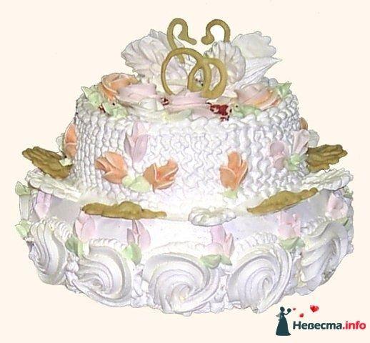 Фото 128217 в коллекции Свадебные торты