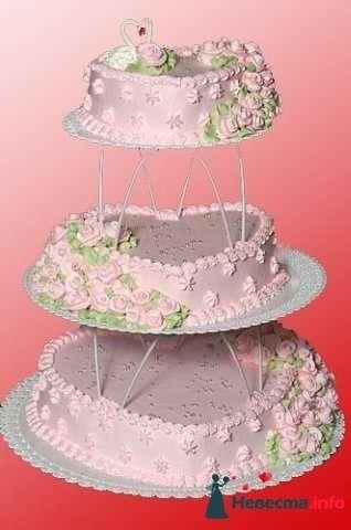 """Фото 128218 в коллекции Свадебные торты - """"Мир Любви"""" - студия свадебных услуг"""