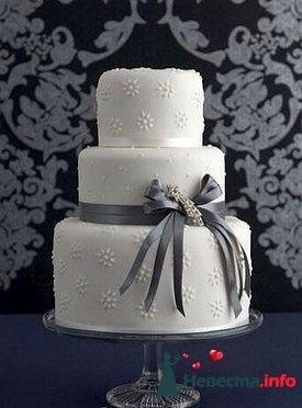 """Фото 128219 в коллекции Свадебные торты - """"Мир Любви"""" - студия свадебных услуг"""