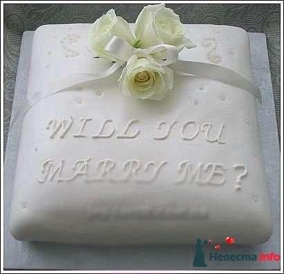 """Фото 128220 в коллекции Свадебные торты - """"Мир Любви"""" - студия свадебных услуг"""