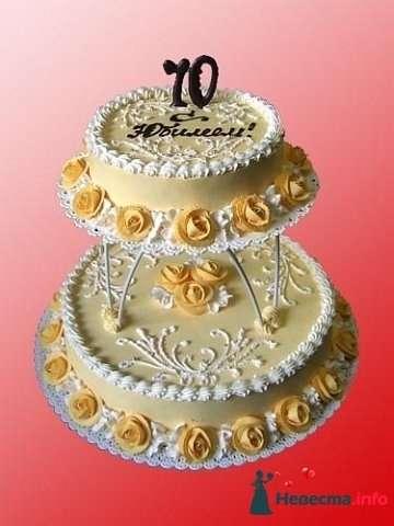 """Фото 128232 в коллекции Свадебные торты - """"Мир Любви"""" - студия свадебных услуг"""