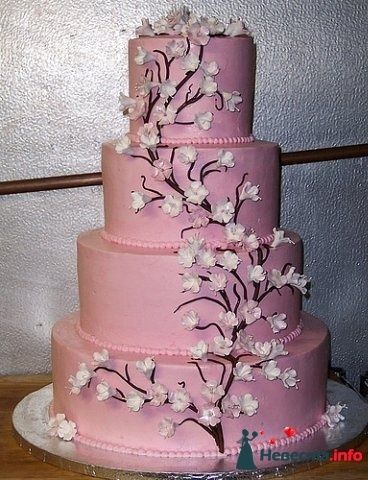 Фото 128233 в коллекции Свадебные торты