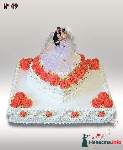 """Фото 128248 в коллекции Свадебные торты - """"Мир Любви"""" - студия свадебных услуг"""