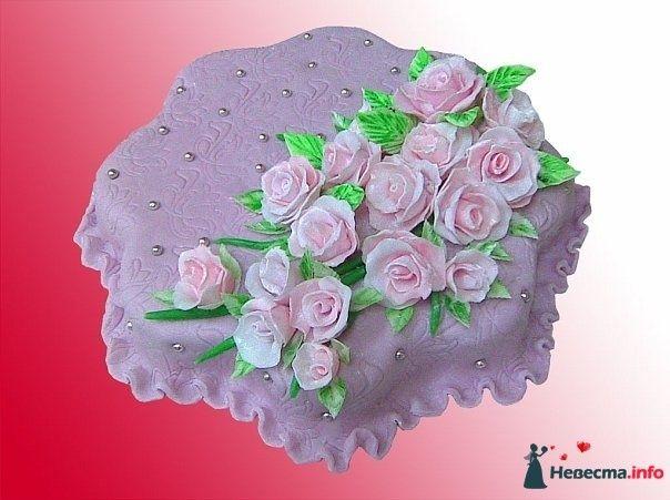 """Фото 128250 в коллекции Свадебные торты - """"Мир Любви"""" - студия свадебных услуг"""