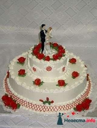 """Фото 128252 в коллекции Свадебные торты - """"Мир Любви"""" - студия свадебных услуг"""