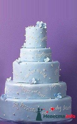 """Фото 128253 в коллекции Свадебные торты - """"Мир Любви"""" - студия свадебных услуг"""