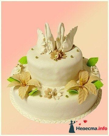 """Фото 128256 в коллекции Свадебные торты - """"Мир Любви"""" - студия свадебных услуг"""