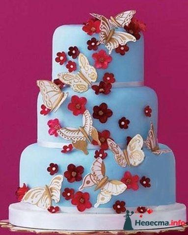 """Фото 128262 в коллекции Свадебные торты - """"Мир Любви"""" - студия свадебных услуг"""