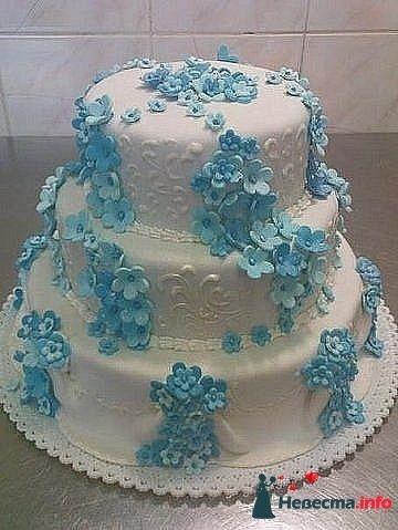 """Фото 128280 в коллекции Свадебные торты - """"Мир Любви"""" - студия свадебных услуг"""