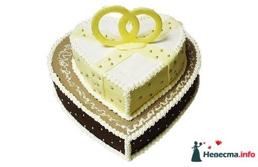 Фото 128282 в коллекции Свадебные торты