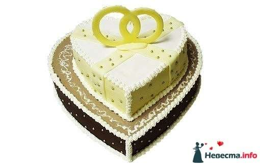 """Фото 128282 в коллекции Свадебные торты - """"Мир Любви"""" - студия свадебных услуг"""