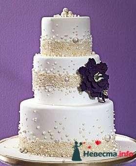 """Фото 128286 в коллекции Свадебные торты - """"Мир Любви"""" - студия свадебных услуг"""