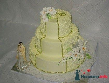 """Фото 128288 в коллекции Свадебные торты - """"Мир Любви"""" - студия свадебных услуг"""