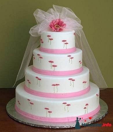 """Фото 128291 в коллекции Свадебные торты - """"Мир Любви"""" - студия свадебных услуг"""