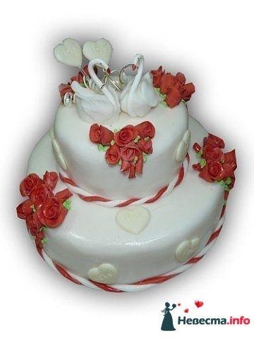 """Фото 128297 в коллекции Свадебные торты - """"Мир Любви"""" - студия свадебных услуг"""