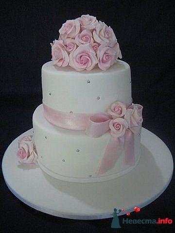 """Фото 128301 в коллекции Свадебные торты - """"Мир Любви"""" - студия свадебных услуг"""