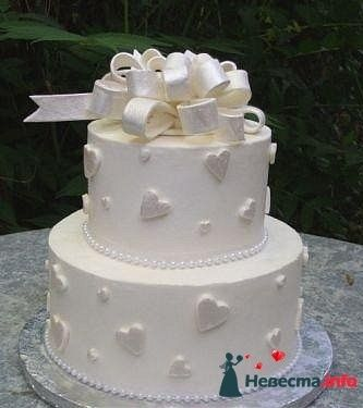 Фото 128304 в коллекции Свадебные торты