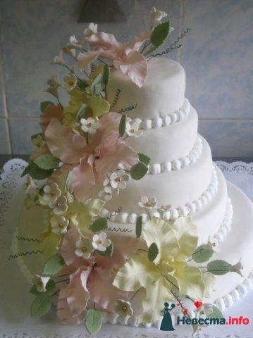 """Фото 128306 в коллекции Свадебные торты - """"Мир Любви"""" - студия свадебных услуг"""