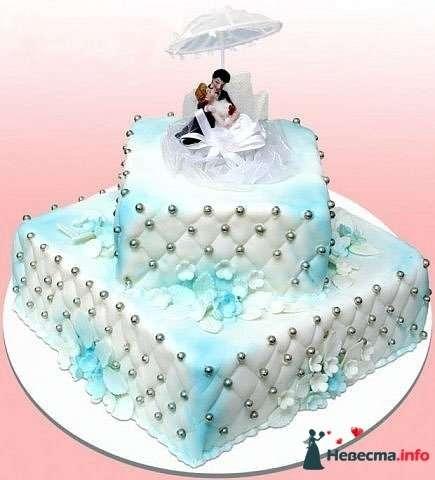 """Фото 128313 в коллекции Свадебные торты - """"Мир Любви"""" - студия свадебных услуг"""