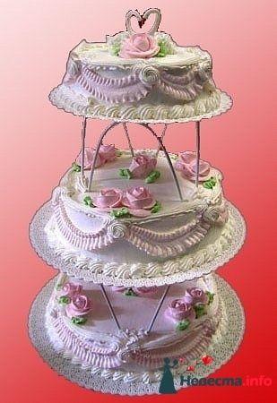 """Фото 128314 в коллекции Свадебные торты - """"Мир Любви"""" - студия свадебных услуг"""