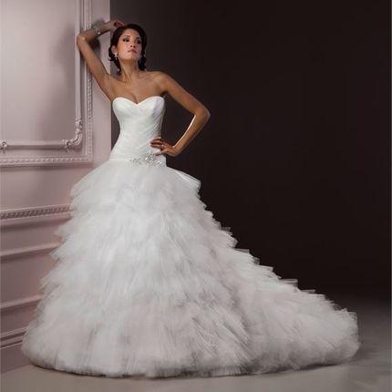 """Свадебное платье на """"Пышку"""""""