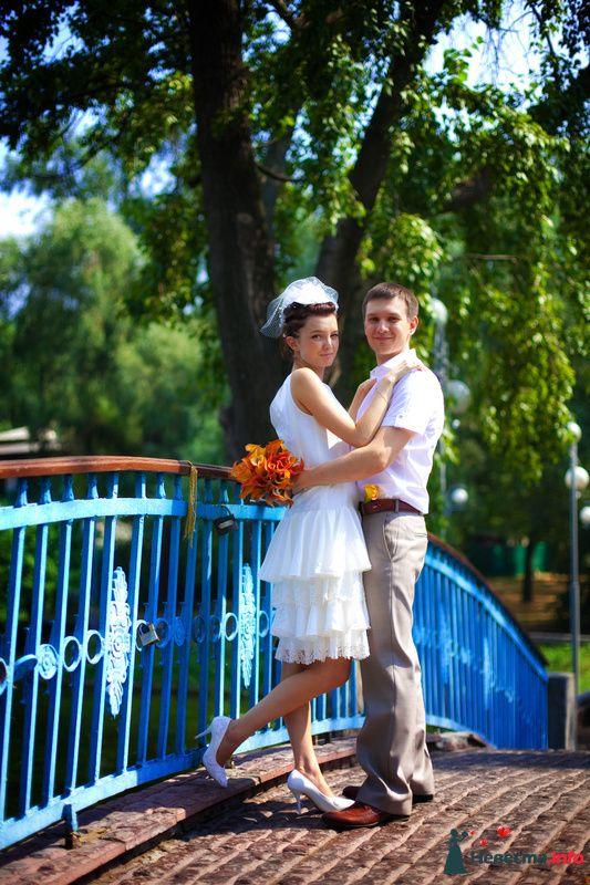 Портрет на мостике - фото 129728 Свадебный фотограф Максим Чесалин