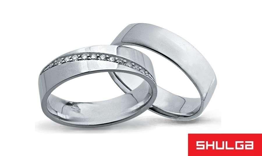 Обручальные кольца ЛОС-АНЖЕЛЕС - фото 1277045 SHULGA - ювелирная компания