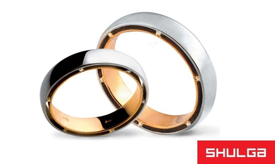 Обручальные кольца ПАРИЖ - фото 1277047 SHULGA - ювелирная компания