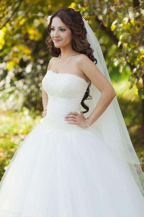 Фото свадебные прически пышные