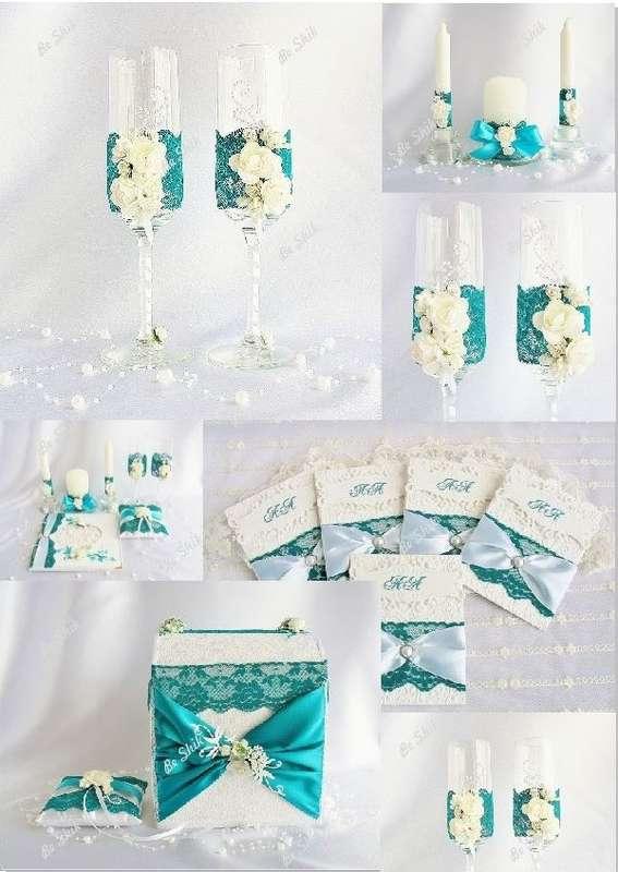 Фото 1347275 в коллекции Свадбеные Бокалы и Шампанское - Студия свадебного декора - Be Shik