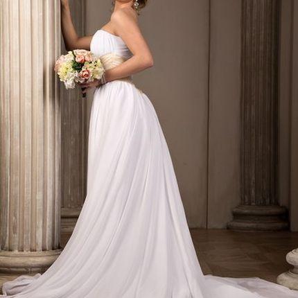 Свадебное платье Золотое