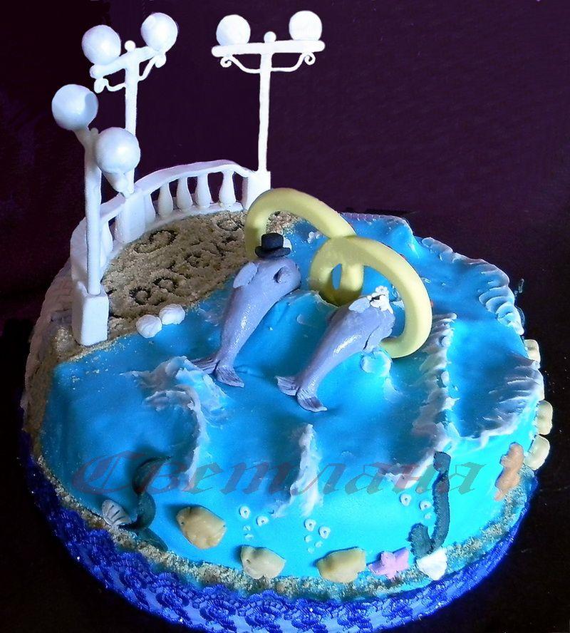 """Фото 1378987 в коллекции Свадебный торт - Авторские торты """"ТортКаприз"""""""