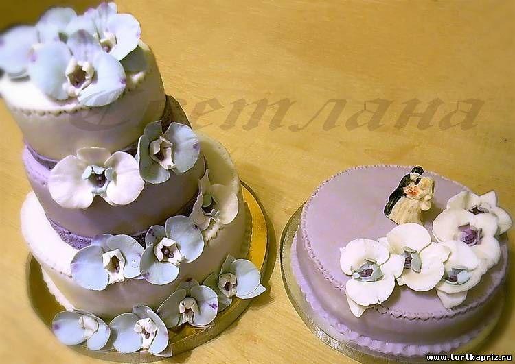 """Фото 1379021 в коллекции Свадебный торт - Авторские торты """"ТортКаприз"""""""