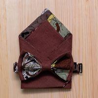 Коричневый подарочный комплект: бабочка + нагрудный платочек. Стоимость комплекта - 1190р.  Чтобы заказать пишите в л.с.  или по т. +7 950 038 54 26