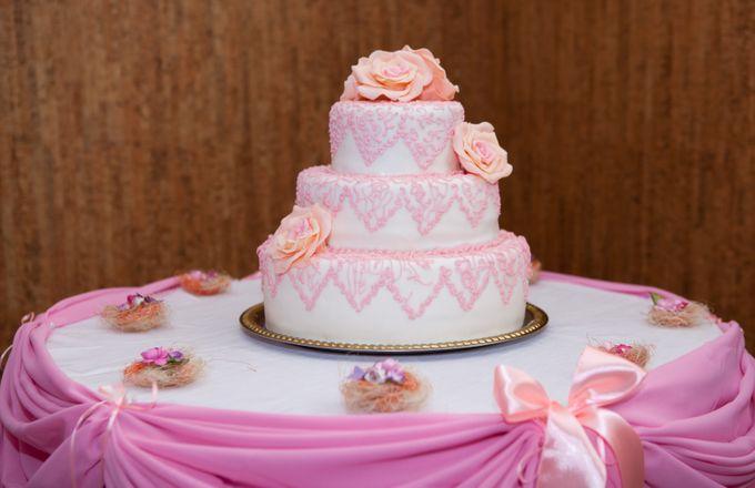 фотографии трехэтажных тортов