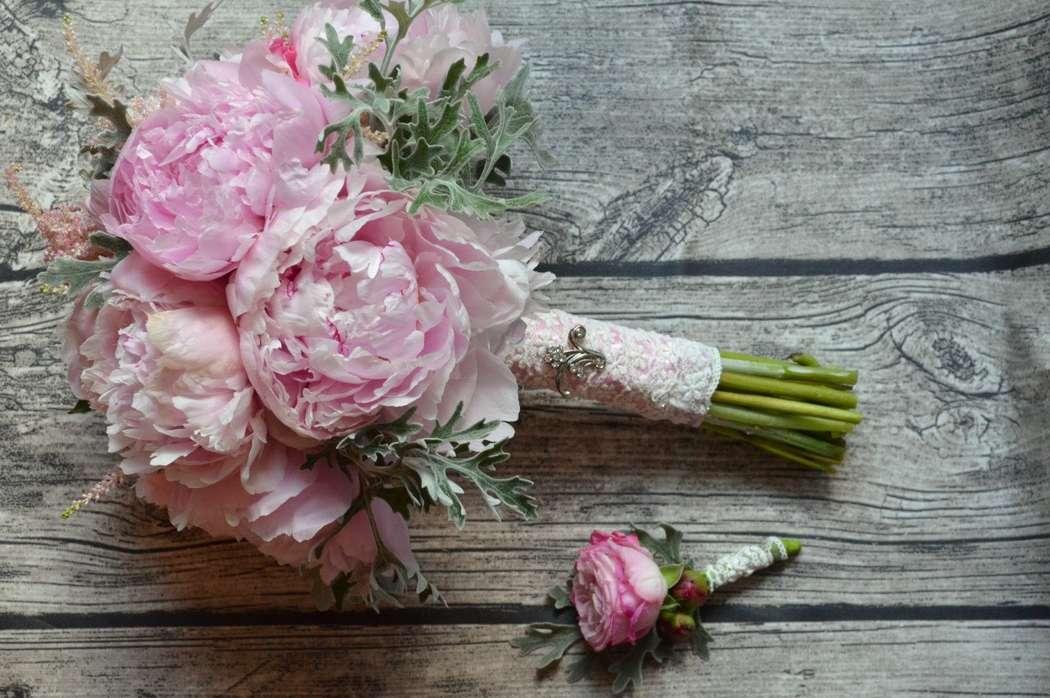Первоцветов поделка, букет невесты из 7 пионов