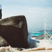 Сейшельские острова, о. Силуэт. Фотосессия на пляже острова Силуэт, Сейшельские острова