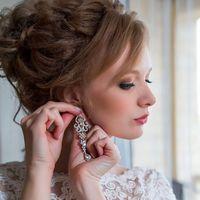Свадебный образ макияж и прическа
