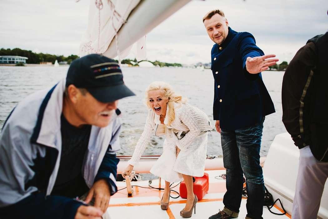 яхта, прогулка, вода - фото 5750473 Макс Чернышев - свадебный фотограф