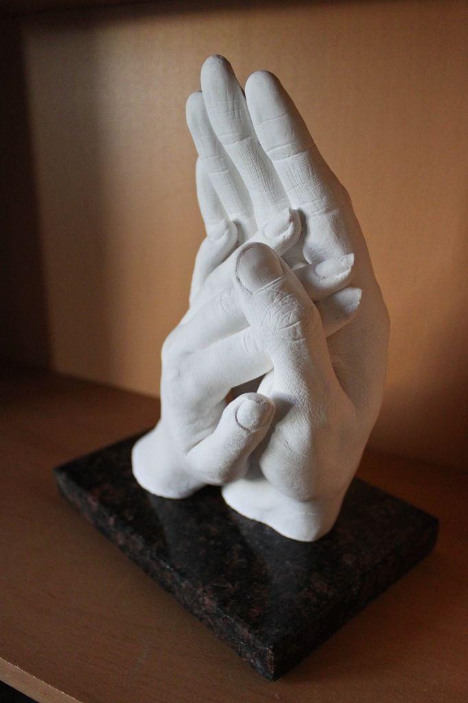 Гипсовая рука своими руками фото